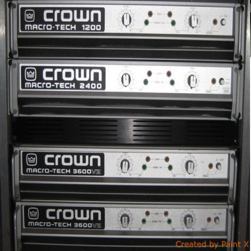 Crown Macrotech 1200 Image